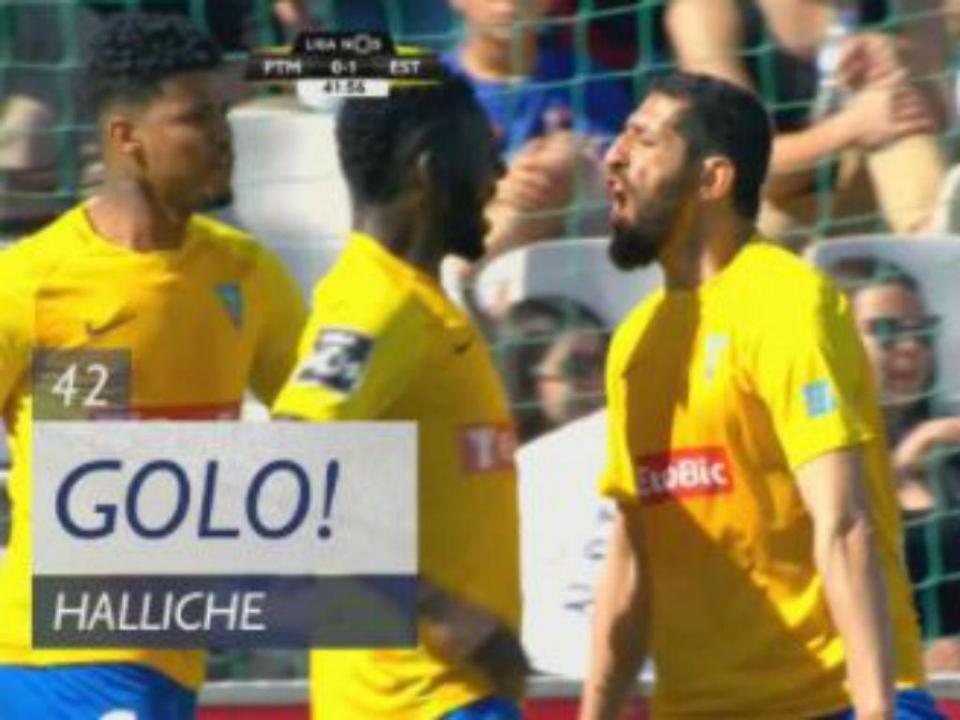 VÍDEO: Halliche coloca o Estoril a vencer em Portimão