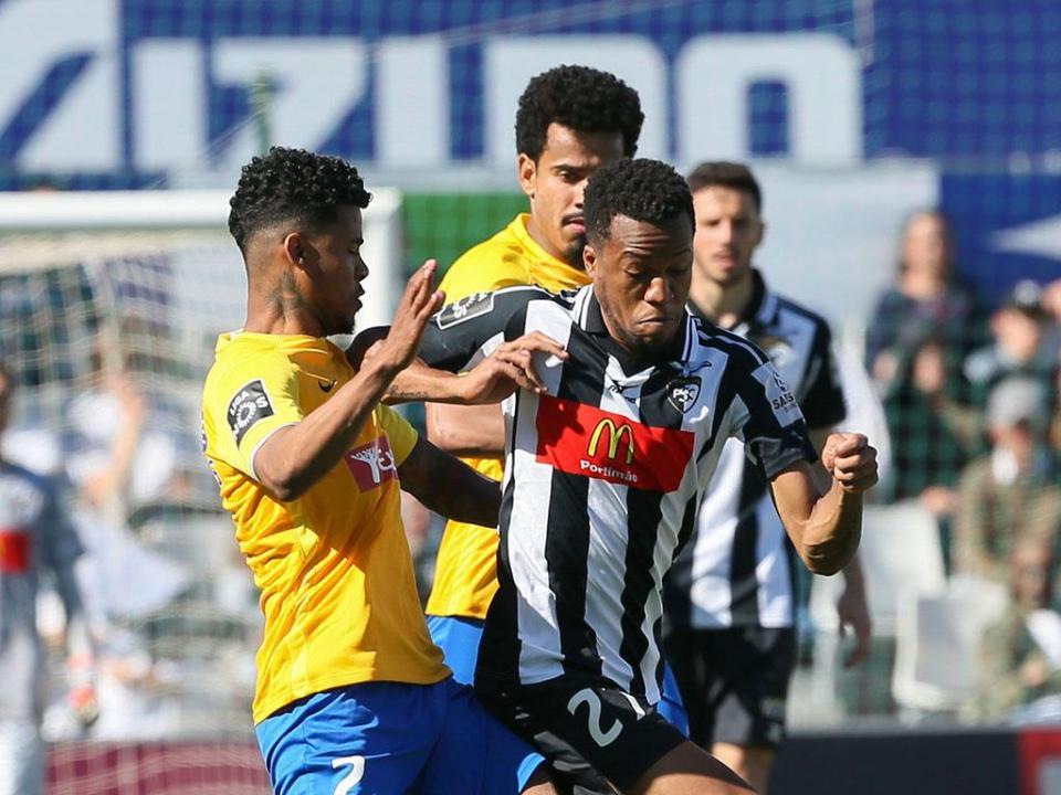 Portimonense-Estoril, 0-1 (destaques)