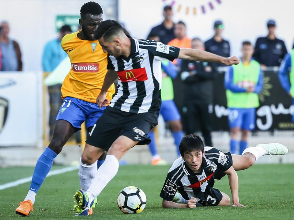 Estoril: Allano e Gonçalo Santos alargam lote de indisponíveis