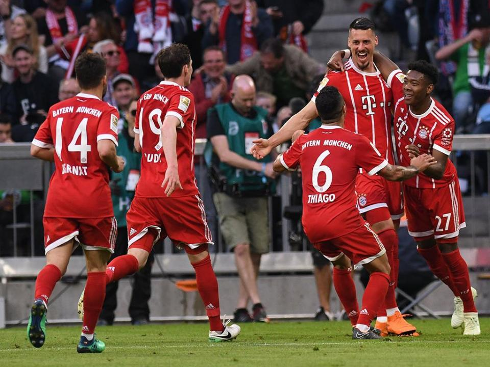 Alemanha: depois do «hexa», Bayern goleia com reviravolta