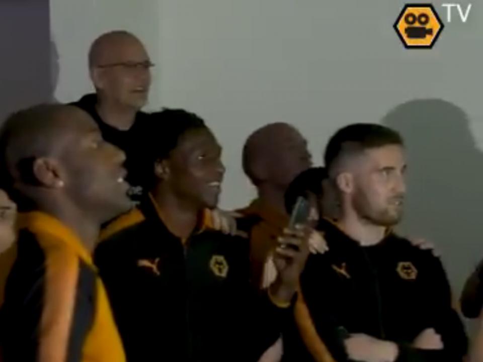 VÍDEO: como o Wolverhampton festejou a subida à Premier League