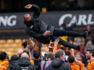 Wolves festejam subida (Reuters)