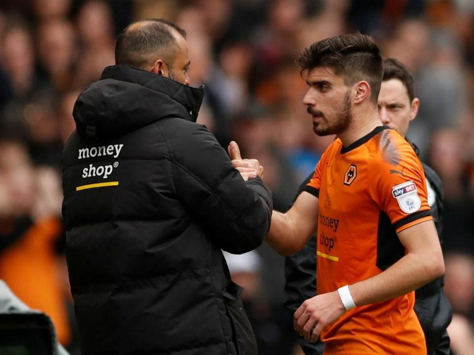 Rúben Neves: «A minha vontade é ficar no Wolves»