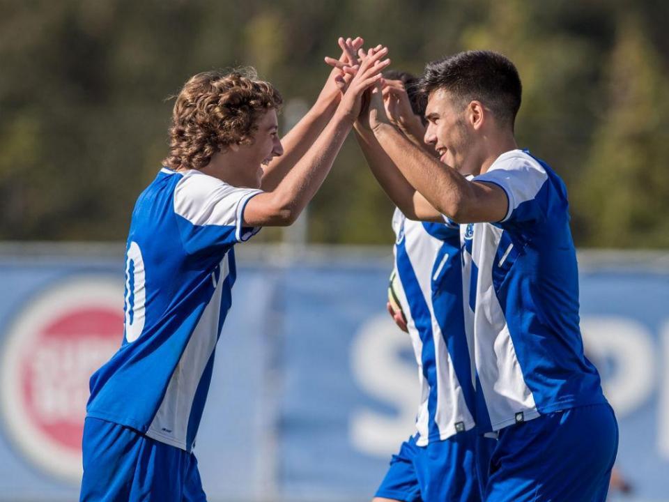 Juvenis: FC Porto bateu Sp. Braga e é líder isolado