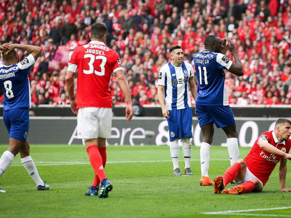 Benfica-FC Porto, 0-1 (destaques dos dragões)