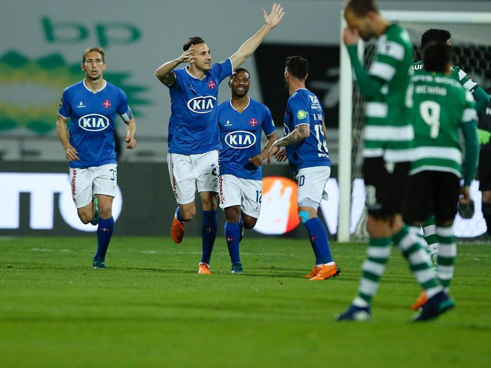 VÍDEO: o penálti de Yebda que adiantou o Belenenses frente ao Sporting