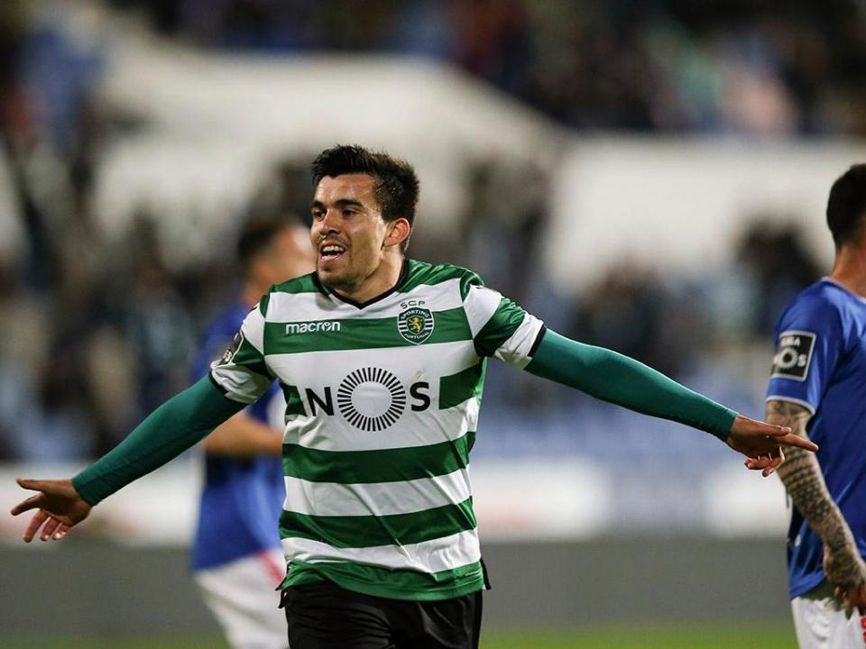 Marítimo-Sporting (onzes oficiais): JJ troca Bryan por Acuña