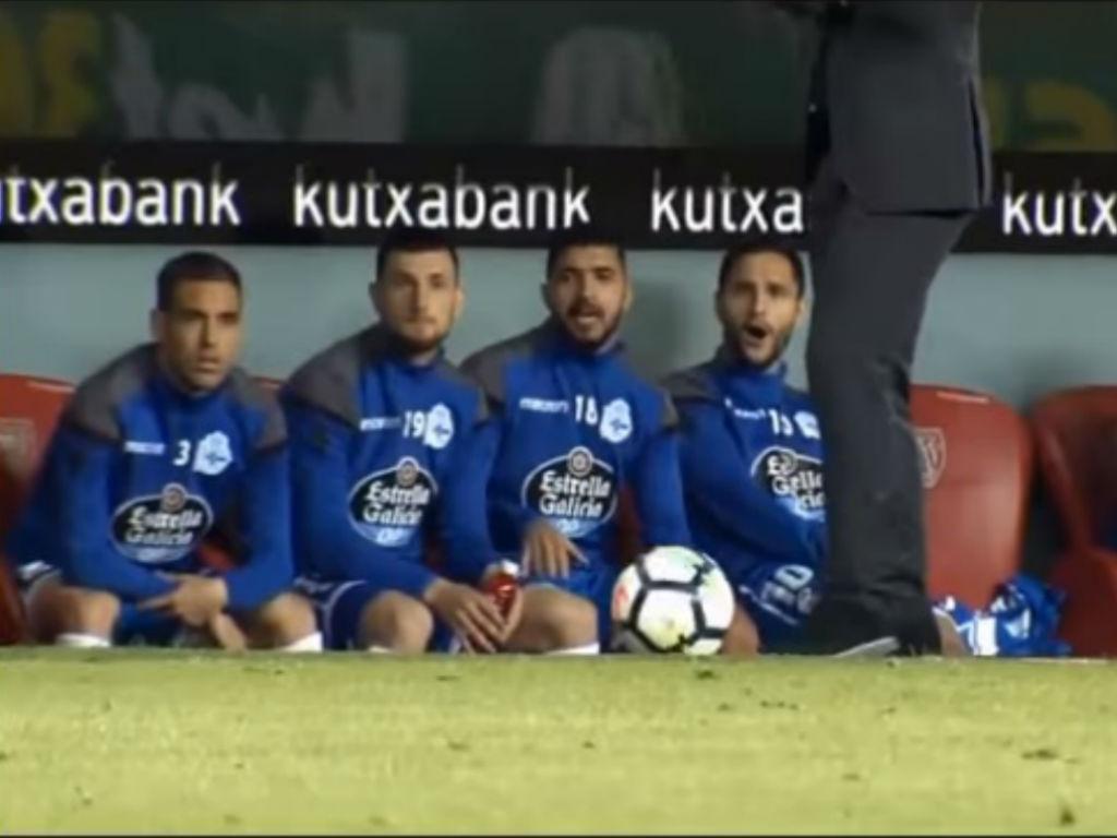 VÍDEO: banco do Deportivo impressionado com domínio de bola de Seedorf