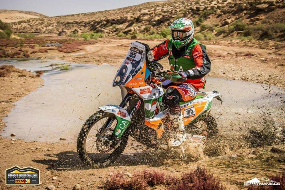 Patrão cada vez mais perto de vencer o Morocco Desert Challenge