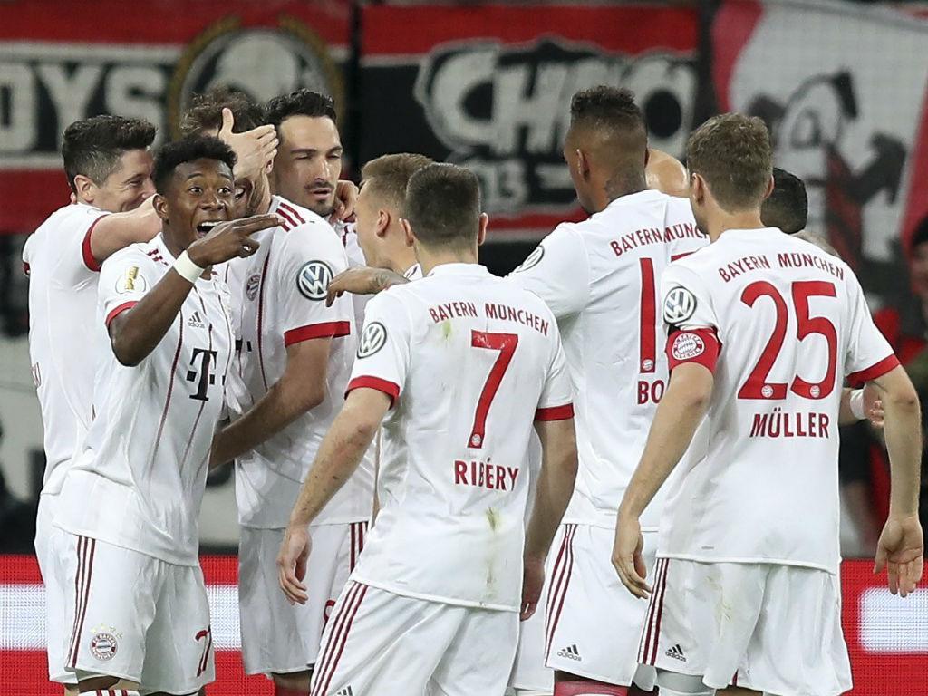 Alemanha: Bayern goleia em Leverkusen e está na final da taça