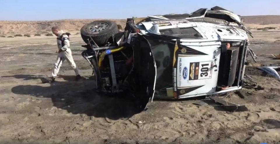 Veja o brutal acidente no Morroco Desert Challenge