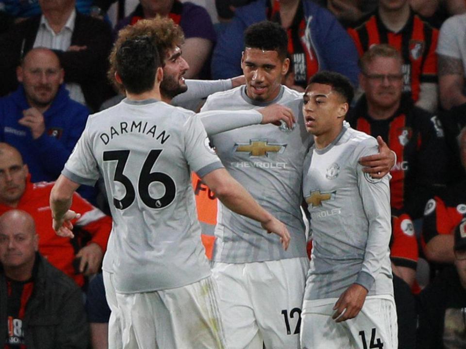Mourinho muda sete mas Man Utd vence em Bournemouth