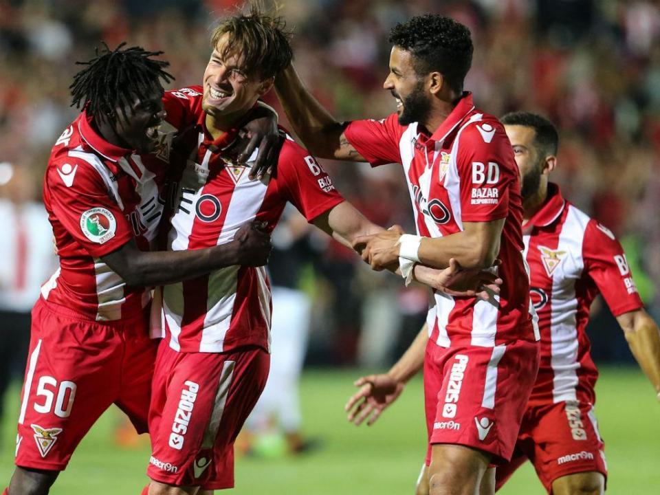 Taça: plantel do Desp. Aves, solidário com o do Sporting, agradece ida a jogo