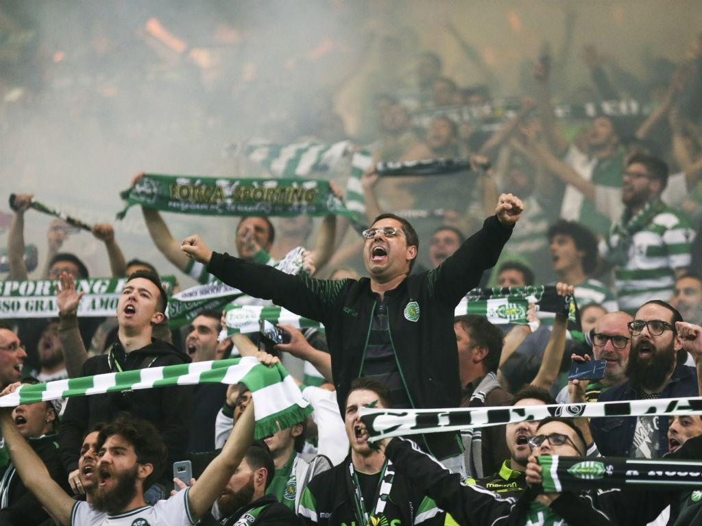 VÍDEO: Alvalade festeja passagem do Sporting à final da Taça