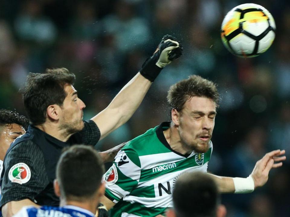 Casillas: «Solidário com todos os companheiros do Sporting»