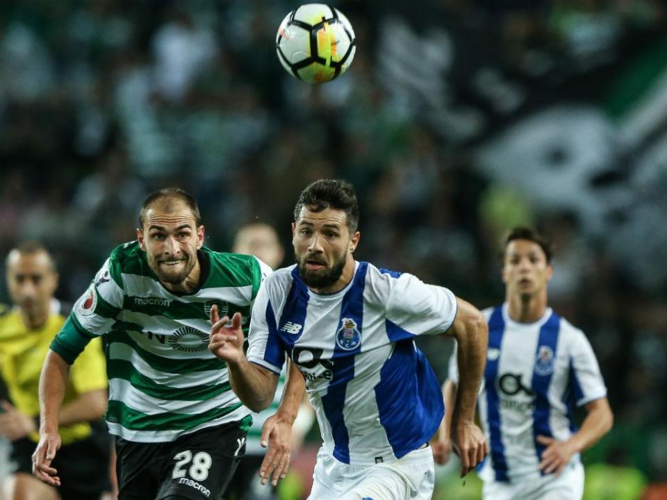 Sporting-FC Porto: antevisão e onzes prováveis