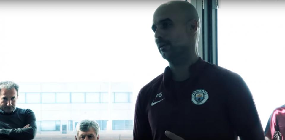 VÍDEO: a emotiva palestra de Guardiola para os novos campeões