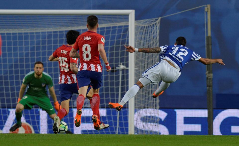 Atl. Madrid é arrasado em San Sebastián pela Real Sociedad