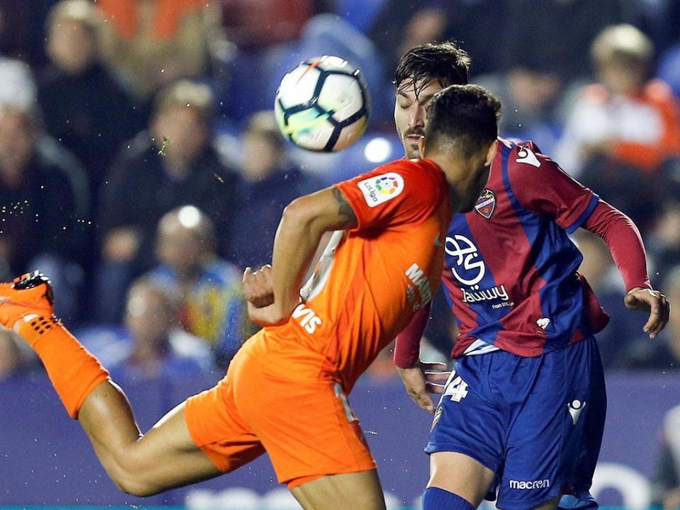 Espanha: Málaga desce de divisão com golo nos descontos de ex-Moreirense