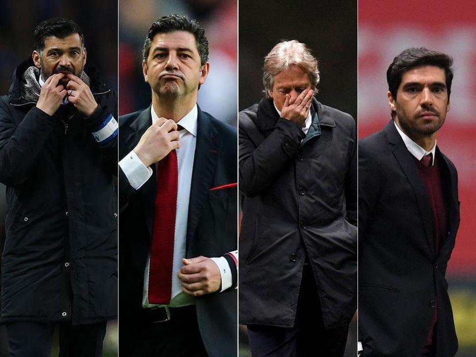 Liga: veja o que falta aos quatro candidatos para o «sprint» final