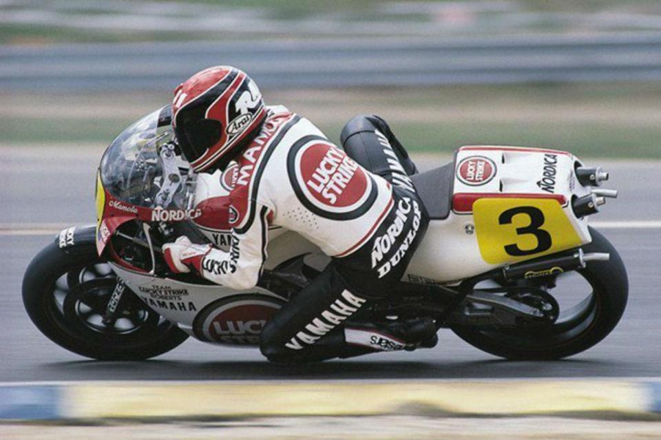 Randy Mamola é a nova lenda do Mundial de MotoGP