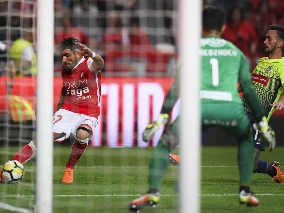 Sp. Braga-Marítimo, 2-0 (resultado final)