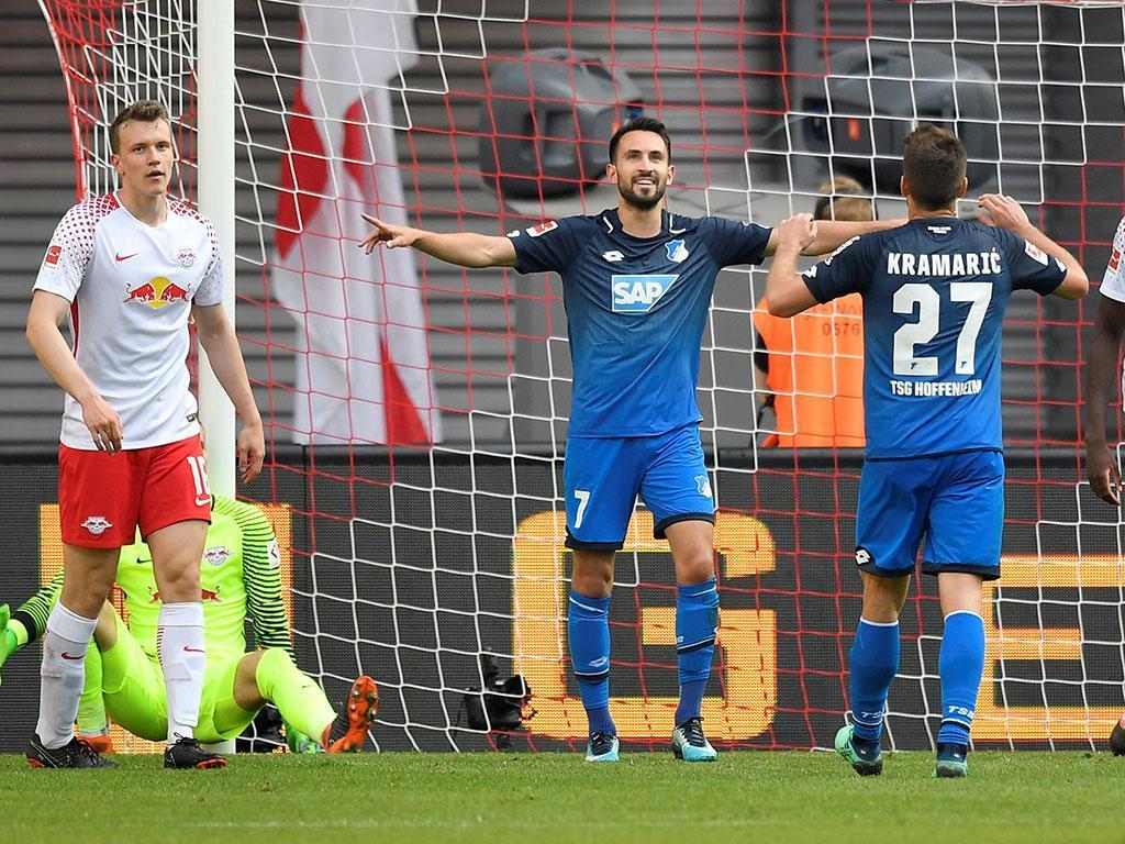 Hat-trick de Kramaric dá vitória ao Hoffenheim frente ao Hannover