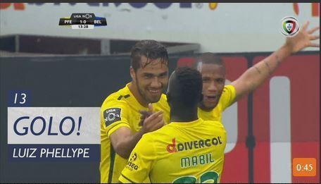 VÍDEO: cabeçada de Luiz Phellype dá vantagem ao Paços