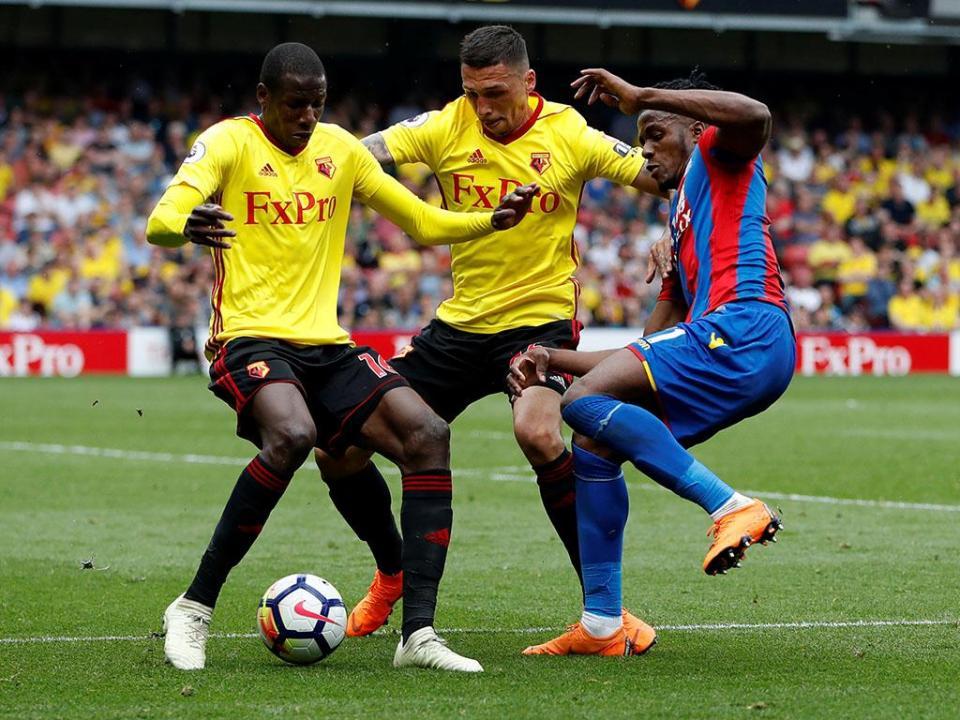 Premier League: Watford e Palace empatam nos remates aos ferros
