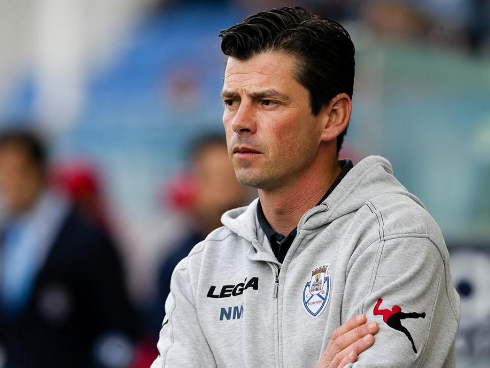 Nuno Manta: «Já não houve tempo para ir atrás do empate»