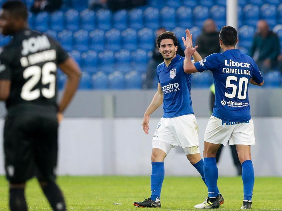 Feirense-V. Guimarães, 2-1 (crónica)