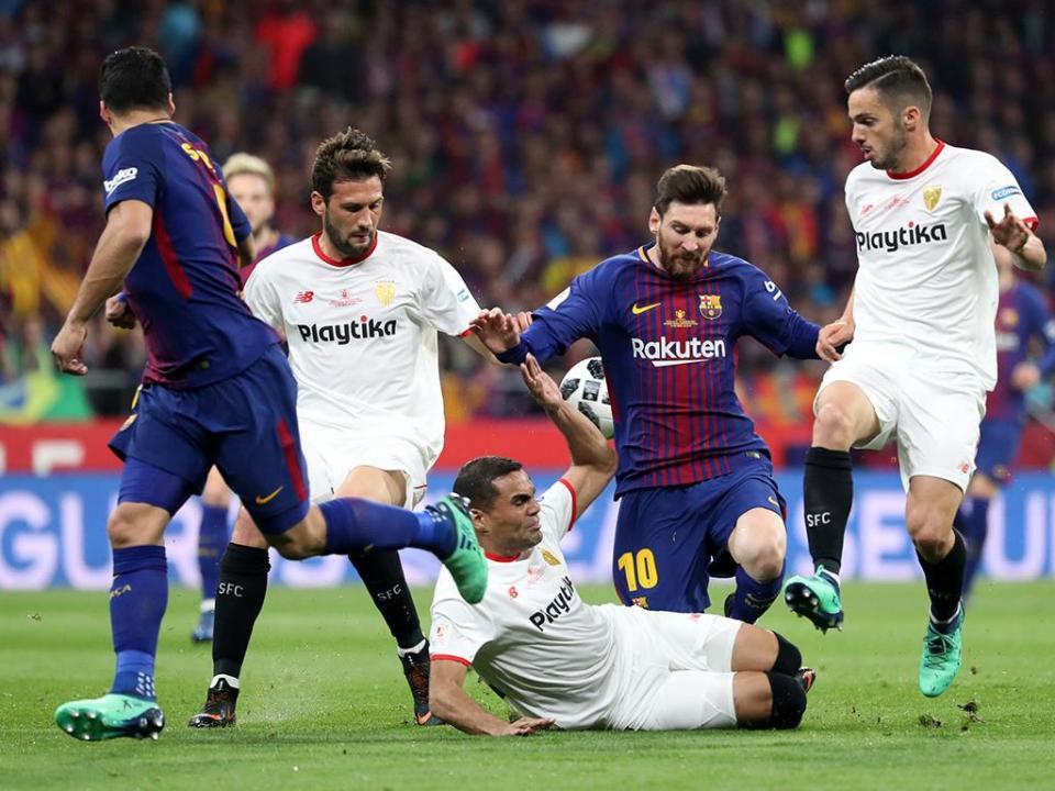 Espanha: Sevilha reage à Supertaça a uma mão com Barcelona