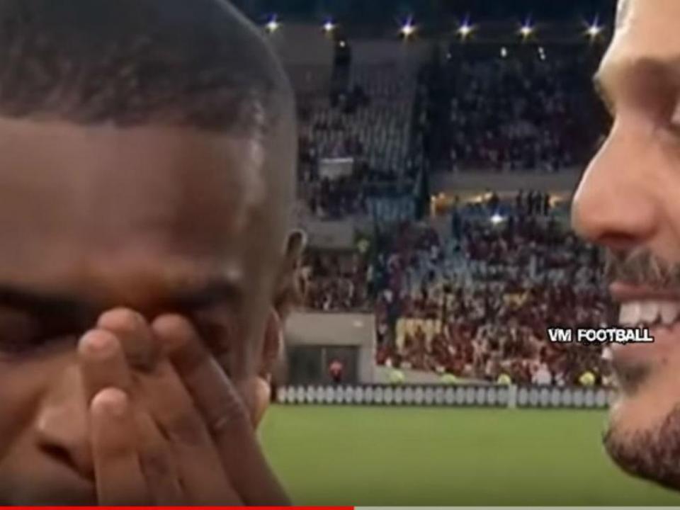 VÍDEO: Júlio César despede-se e até Juan chora