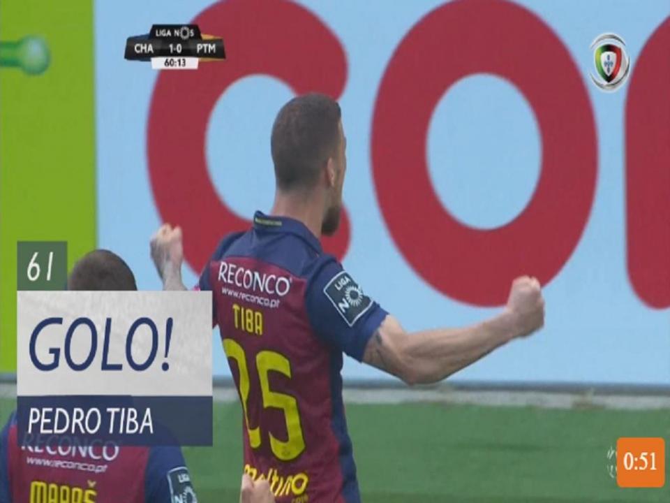 VÍDEO: foi assim que Tiba marcou o primeiro golo da tarde em Chaves