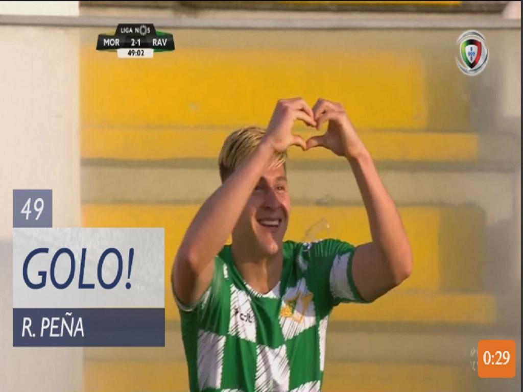 VÍDEO: Penã volta a adiantar o Moreirense