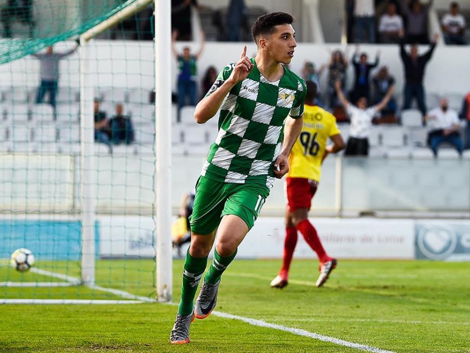 Moreirense venceu V. Guimarães B com dois golos de Bilel