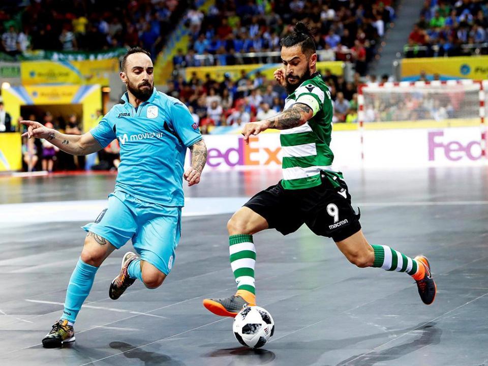 Futsal: nova goleada e o Sporting termina a fase regular invicto