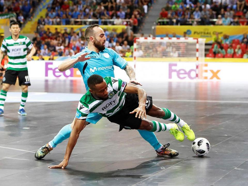 UEFA Futsal Cup: Sporting volta a perder final para o Inter Movistar