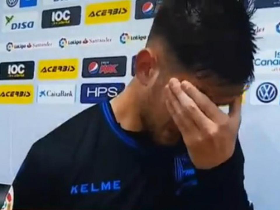 VÍDEO: Medrán não conseguiu conter as lágrimas depois do golo