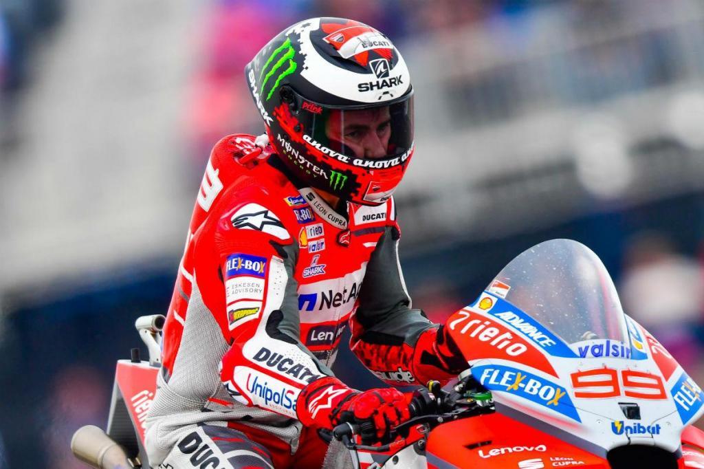 MotoGP: Jorge Lorenzo desapontado com a corrida de Austin