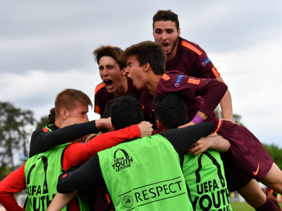 Barcelona vence Chelsea e conquista Youth League