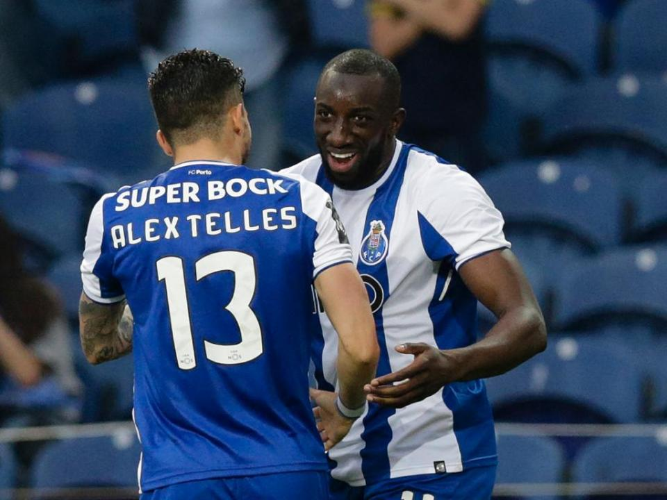 Marega e mais dez: as figuras do campeão