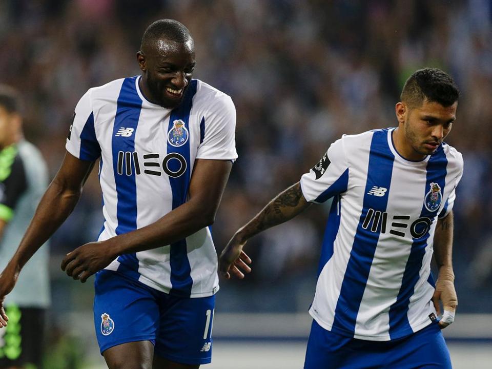 FC Porto: Marega ausente do treino