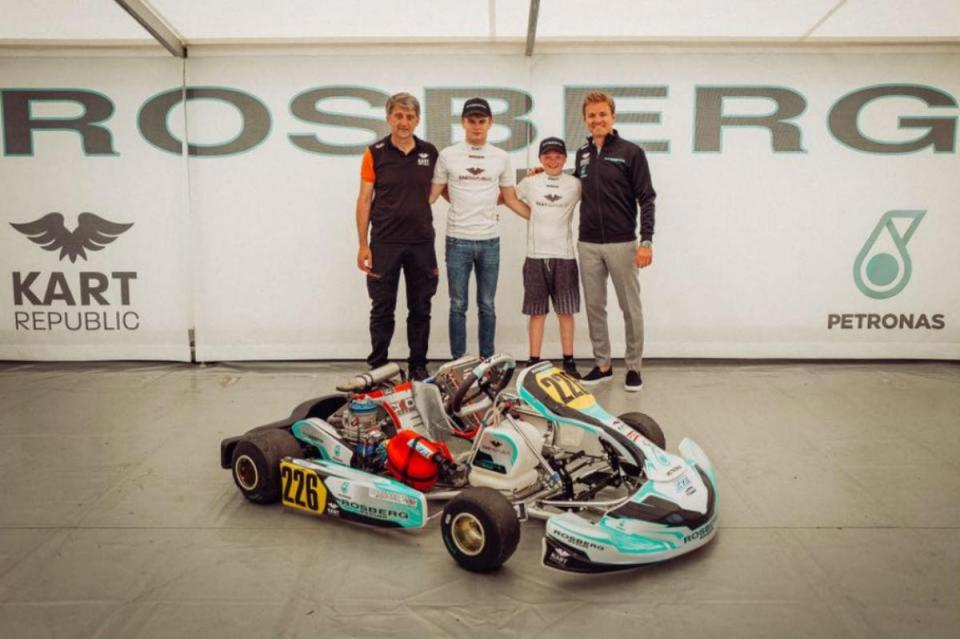 Nico Rosberg abre academia de pilotos