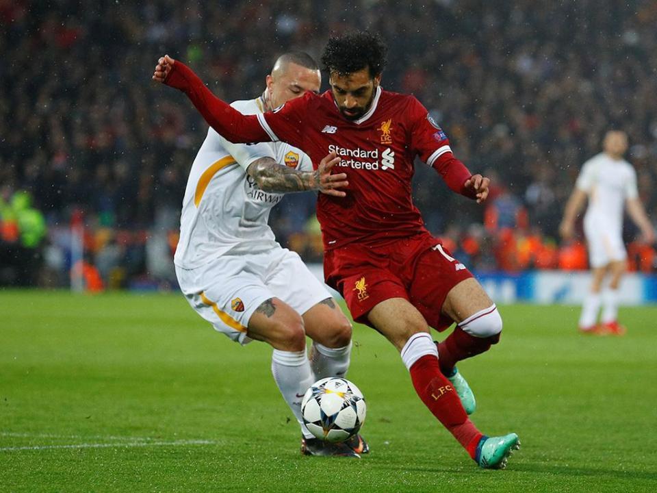 LC: Roma-Liverpool com segurança reforçada