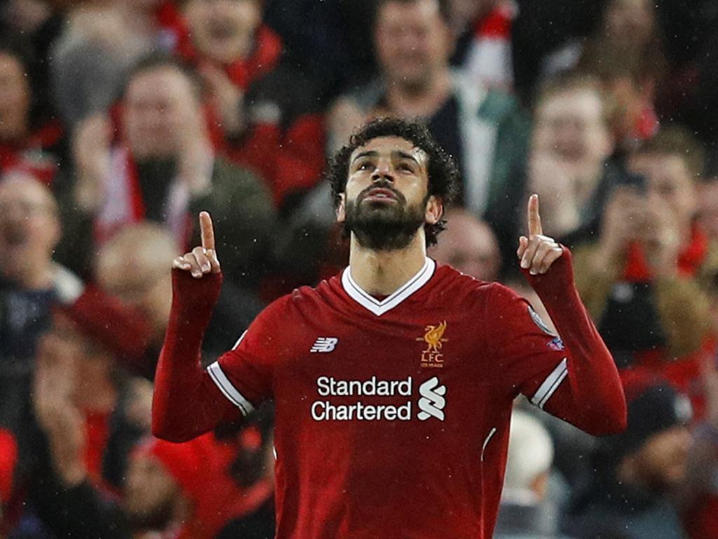 Salah já é o melhor marcador de sempre do Liverpool numa edição da LC