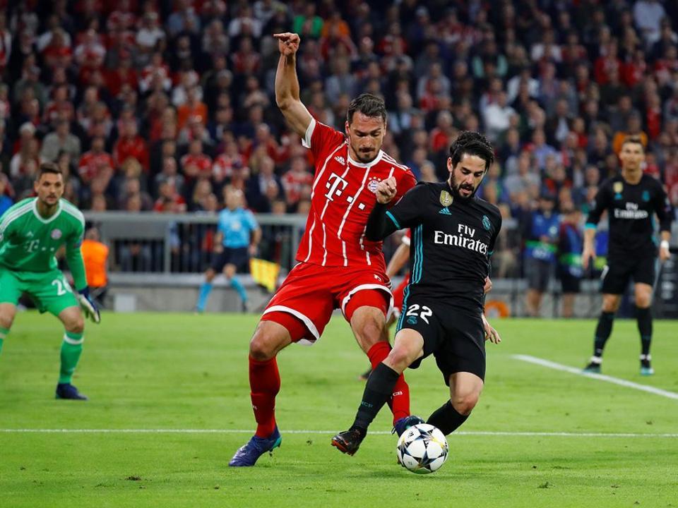 Real Madrid: Carvajal e Isco devem falhar receção ao Bayern