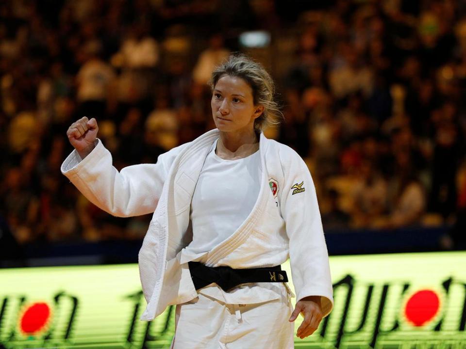 Judo: Telma Monteiro eliminada no primeiro combate em Zagreb