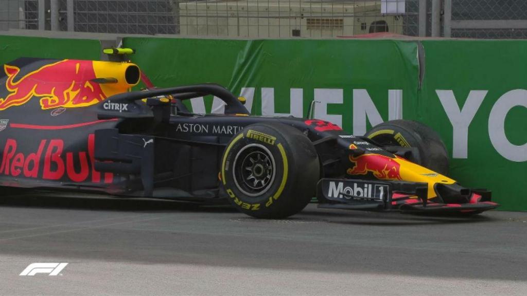 F1: Max Verstappen entra no GP do Azerbaijão com o pé esquerdo