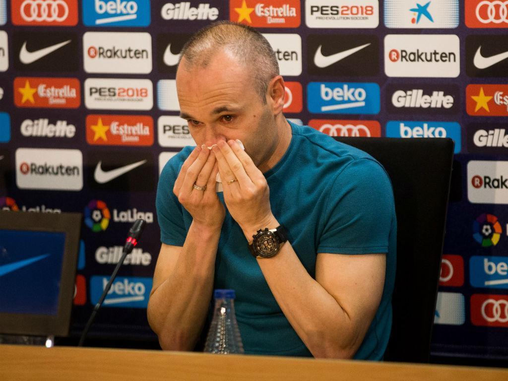 De Guardiola a Messi: as reações à saída de Iniesta